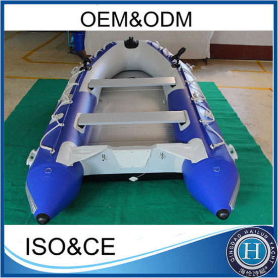 380cm Rubber PVC Aluminum Floor Inflatable Boat pictures & photos