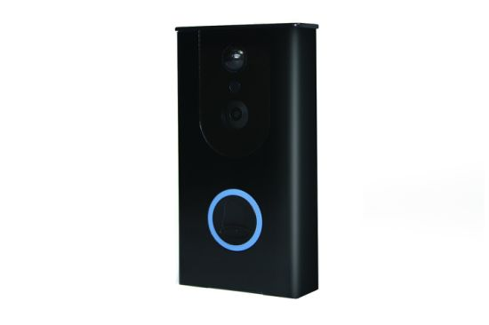 New Mini Wireless Video IP Doorbell CCTV Security Camera with Low-Powered pictures & photos