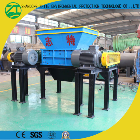 China Double Shaft Shredder for Mattress/Waste Fabric/Tractor Wood