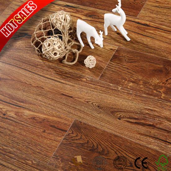 China Best Quality Herringbone Laminate Flooring 8mm Eir Embossed In