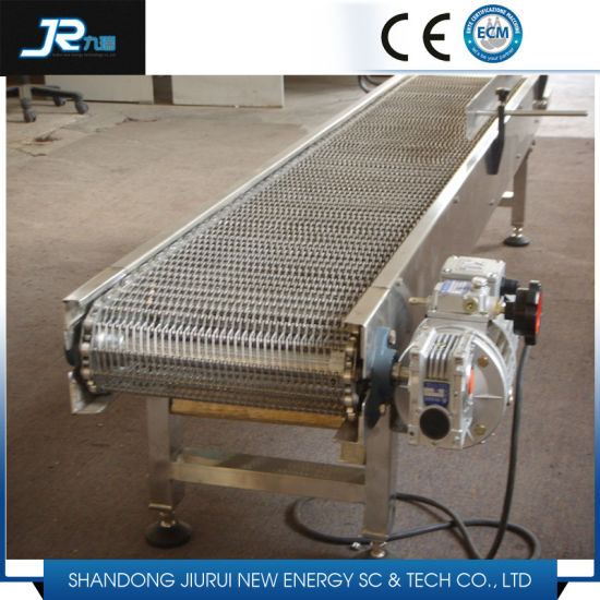 Stainless Steel Wire Mesh Belt Conveyor for Washing Wet Environment pictures & photos