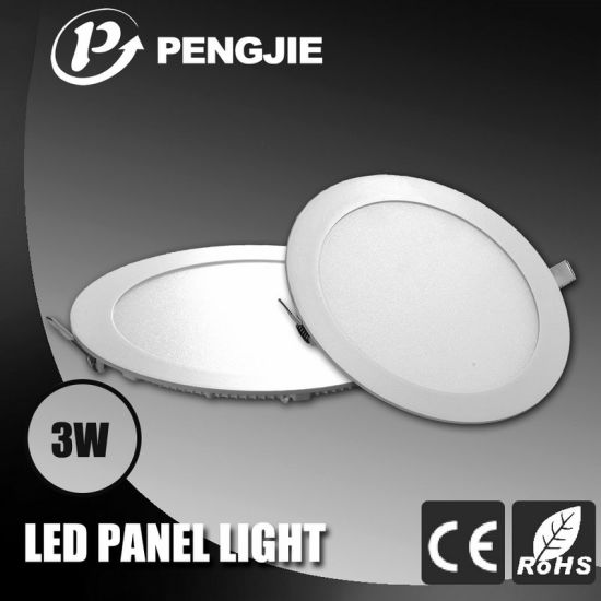 3W Aluminum Slim Round LED Ceiling Light for Indoor pictures & photos