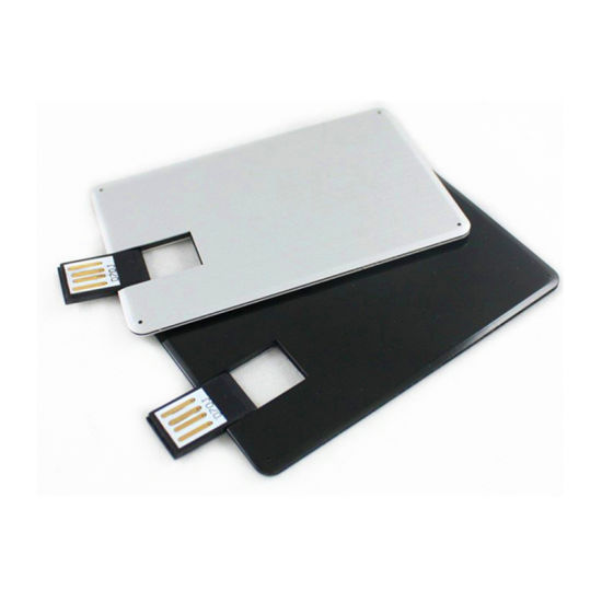 Customized Credit Card Shape Usb Flash Drive Promotional Gift