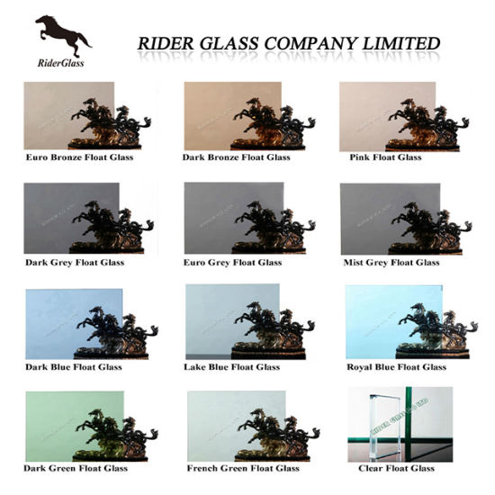 3-12mm Colored Reflective Class and Clear Float Blue Glass pictures & photos