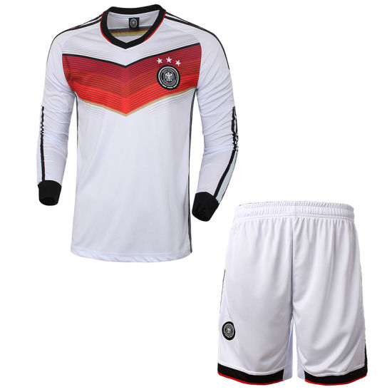 Customizable Autumn Printed Long-Sleeved Shirts German Cup Soccer Clothes  Suit High Quality Football Clothes 208161973