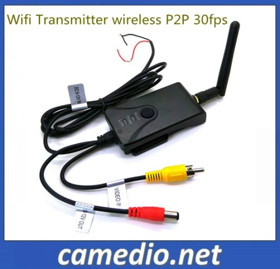 Wireless P2p 30fps Mobile System Realtime Car Video WiFi Transmitter for Rearview Camera pictures & photos