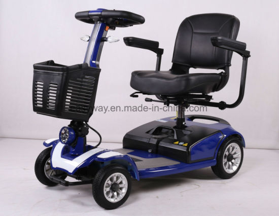 4-Wheel Elegant Small Size Electric Mobility Scooter