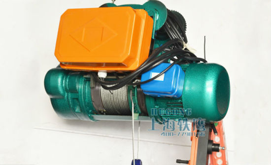 Top Saling Steel Cable Electric Winch Wire Rope Electric Hoist Factory pictures & photos