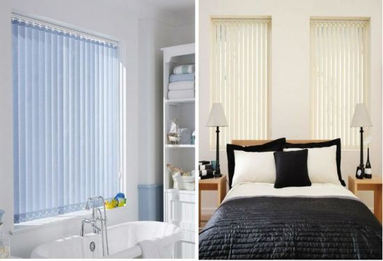 Vertical Blind String Curtain Roller Blinds Fabric With Accessory