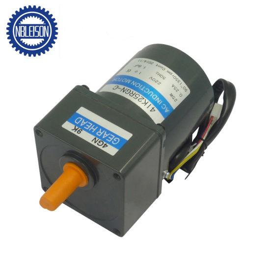25 Watt 40kg  Cm Torque AC Gear Motor 100 Rpm 220V
