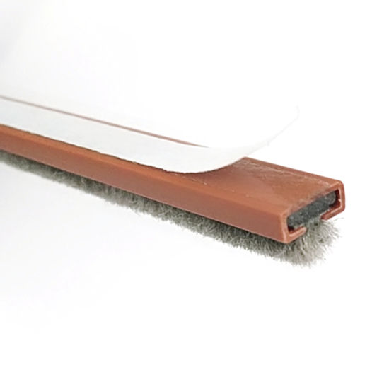 Fire Door Strips >> China 10 4mm Fire Door Intumescent Seal Strip With Brush