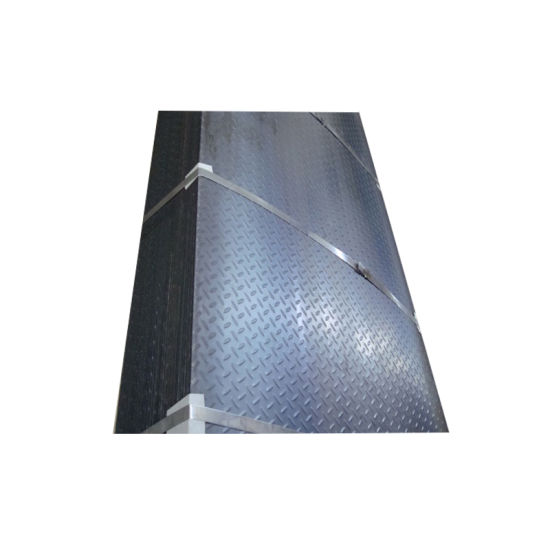 A36 Ss400 Chequer Metal Sheet Hot Rolled Checkered Chequered Mild Steel Plate