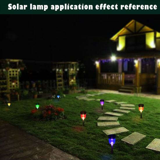 RGB Factory Direct Sale Colorful Solar LED Street Light pictures & photos