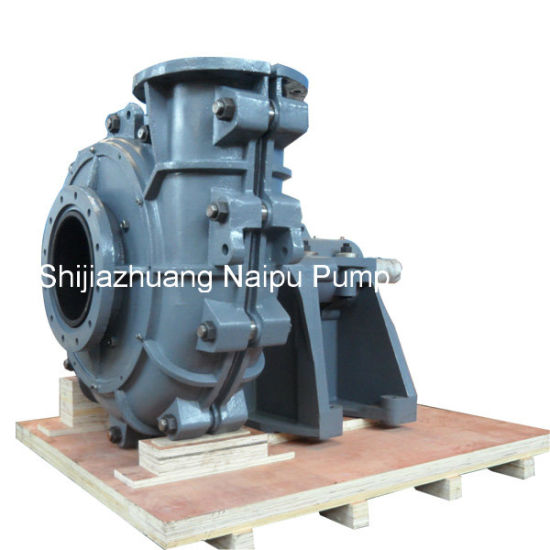 Rubber Lined Competitive Price Vertical Submersible Sump Slurry Pump pictures & photos