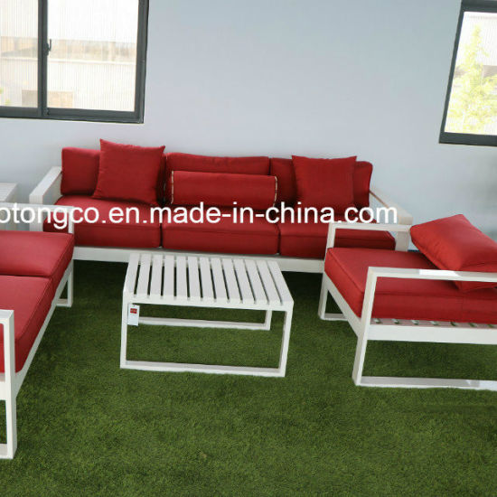 China 2018 New 7 Star Hotel Outdoor Garden Sofa Outdoor Lounge Cast