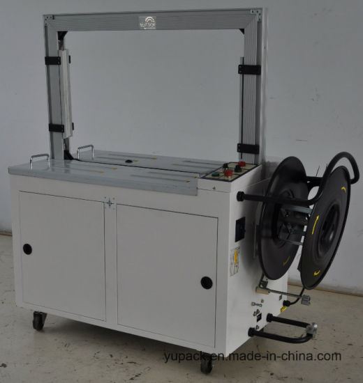 Carton/Box Automatic PP Belt Strap/Strapping Machine with PLC pictures & photos