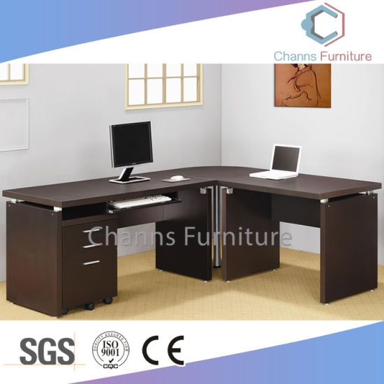 Brilliant China Hot Sell Modern L Shape Executive Table Big Size Download Free Architecture Designs Rallybritishbridgeorg