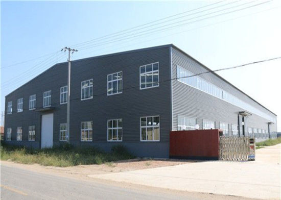 Light Steel Structure Affordable Metal Frame Homes Prefabricated Warehouse