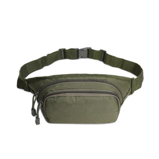 Factory Wholesale Sports Running Hiking Men Waist Bag Belt Pouch Military Outdoor Waist Bag