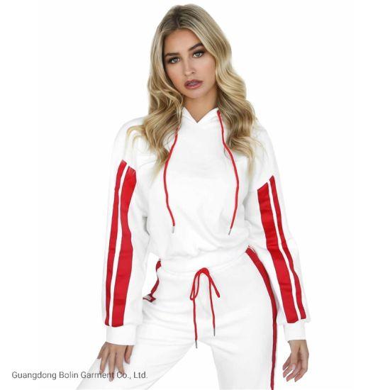 Custom 2020 Hot Sale Tracksuit for Women 2 Piece Set Women Sportswear