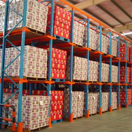 Manufacture Warehouse Storage Through Drive in Pallet Warehouse Rack