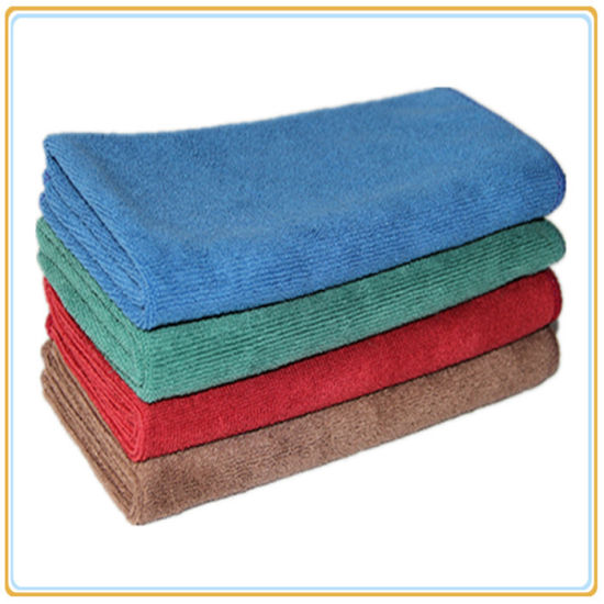Super Soft Water Absorption Microfiber Cloth pictures & photos