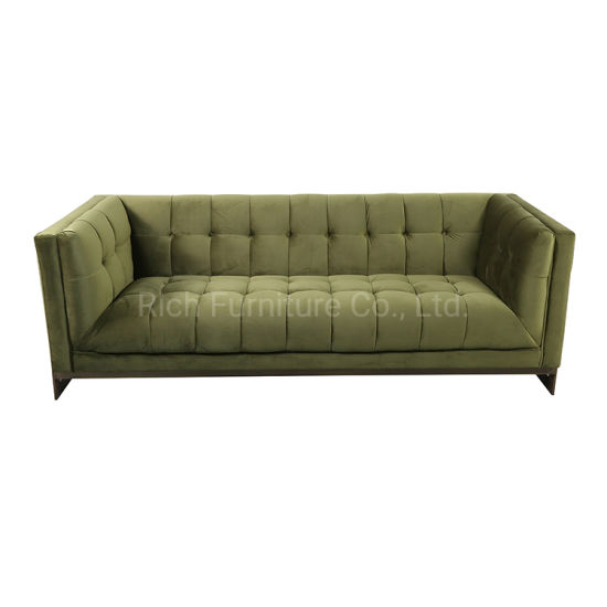 Wholesale Home Luxury Modern European Style Bedroom Sectional Furniture Canape Fabric Couch Living Room