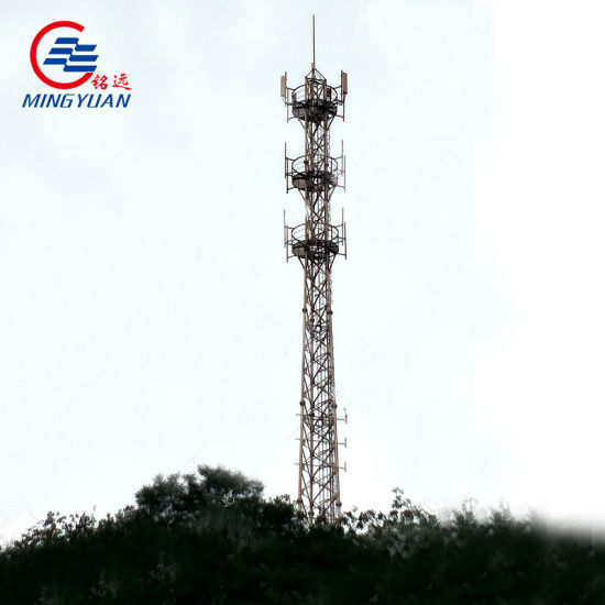 Self Supporting Telecom Steel Tower with Galvanized