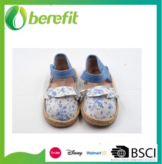 2019 Hot Sale Flower Style Children Shoes
