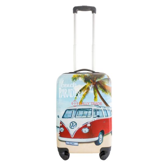 Printing ABS+PC Travelling Camping Shopping Trolley Case Luggage (LP544)
