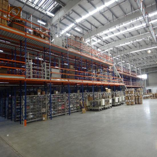 Steel Platform Warehouse Industrial/Heavy Equipment Mezzanine Shelf