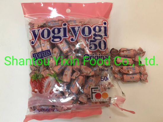 4G Fruit Flavor Toffee Candy with Cheap Price