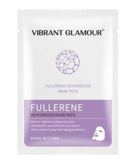 Vibrant Glamour Face Mask Fullerene Serum Protein Hyaluronic Acid Face Mask Anti-Wrinkle Acne Lighten Black Spots Lifting Skin