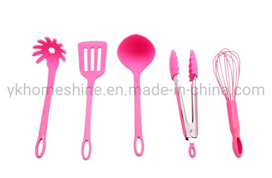 High Quality Muti Function Kitchen Tools Accessory Silicone Cooking Utensil with Handle
