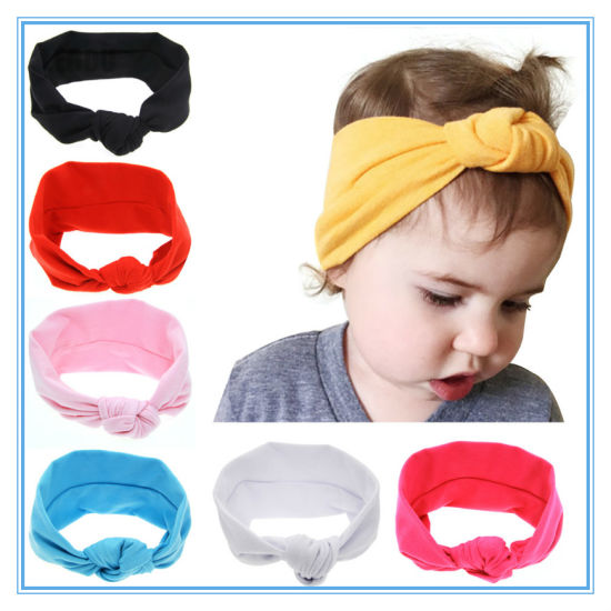 Baby Multicolor Bowknot Cute Hairband Newborn Floral Headband pictures & photos