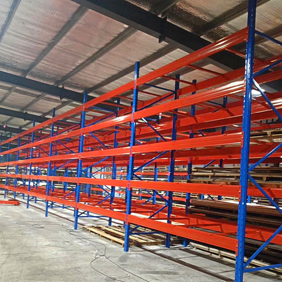 Heavy Duty Steel Selective Pallet Rack for Industrial Warehouse Storage Solutions