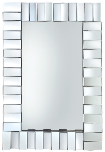 3D Stylish Dressing Glass Mirror Decor Wall Mirror for Bathroom