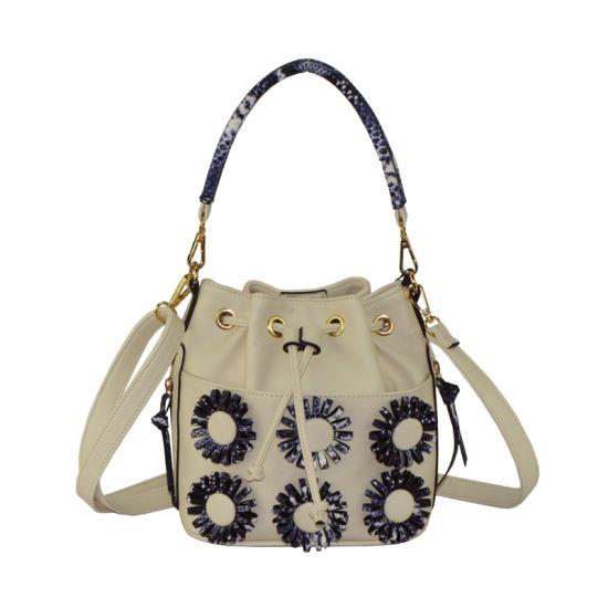 43e312111c 2018 Ss Flora Applique Designer Handbag Ladies Bucket Bag Zxk1682 pictures    photos