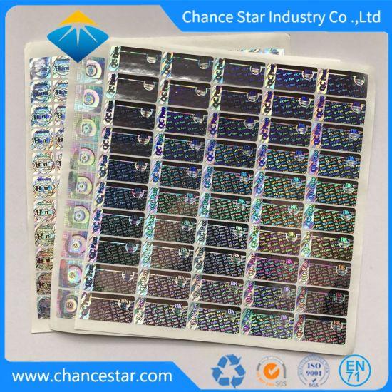 China Custom Logo Reflection QC Pass Hologram Sticker