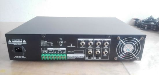 F-250 Series PA Mixer Amplifier with USB, SD, FM, Bluetooth pictures & photos