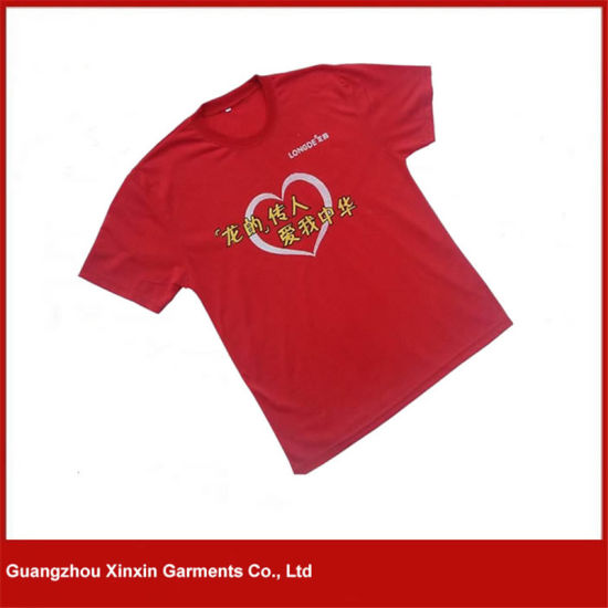 China Factory Cheap Blank Advertising Tshirts with Own Logo (R82) pictures & photos