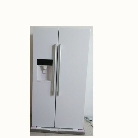 Domestic R600A Four Door Side by Side with Ice and Water Refrigerator pictures & photos