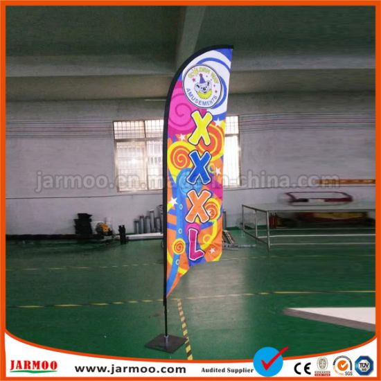 Promotional Wind Feather Flag for Outdoor pictures & photos