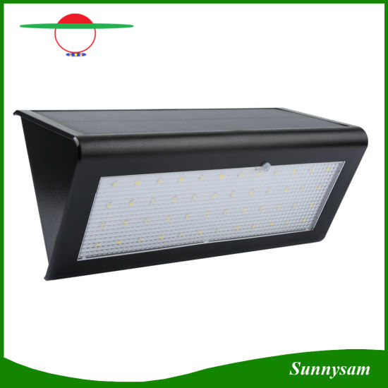 China solar outdoor light 48 leds microwave radar motion sensor solar outdoor light 48 leds microwave radar motion sensor wireless security garden wall light aloadofball