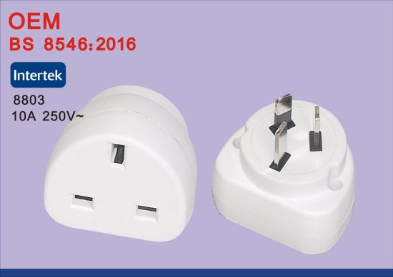 Universal Travel Adapter Us Au EU to UK Plug Travel Wall AC Power Adapter 250V pictures & photos