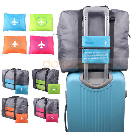 6b91dc4f01c3 China Foldable Travel Bag Portable Luggage Bag Waterproof Large ...