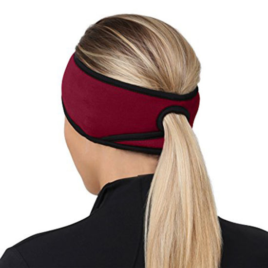 China Running Women′s Microfleece Ponytail Hat Beanie - China ... ba5a251ba82