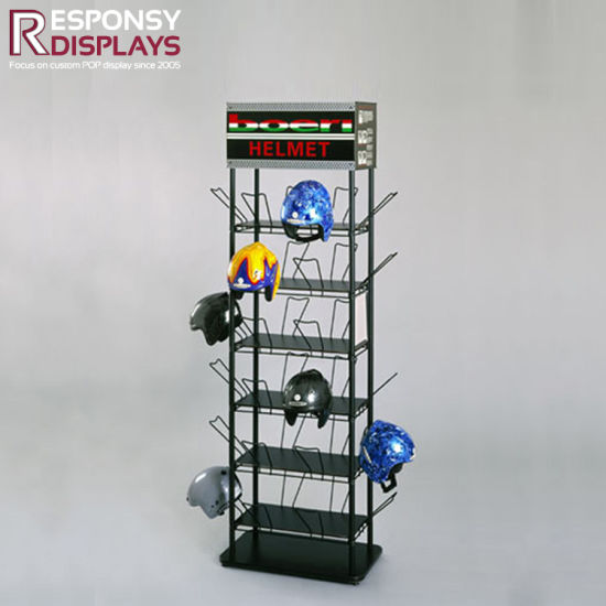 Point of Purchase Display Stand Made From Metal pictures & photos