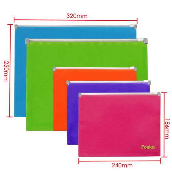 Hot Sale PP File Folder Pocket/Plastic File Pocket pictures & photos