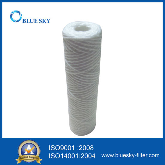 """10""""X 2.5"""" Wound String Sediment Water Filter 1micron - 20micron"""